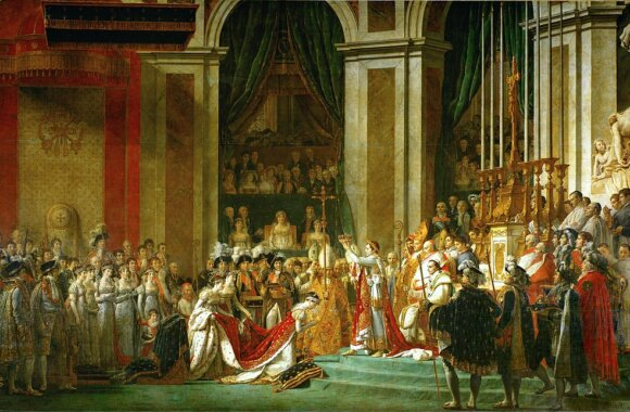 A photograph of Napoleon Bonaparte